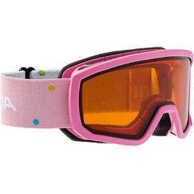 Alpina Scarabeo Doubleflex S2 - Lunettes de protection Enfant - rose